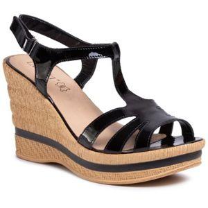 Sandály Lasocki 565-03 Přírodní kůže - lakovaná