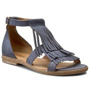 Sandály Lasocki 9311-01 Přírodní kůže - nubuk