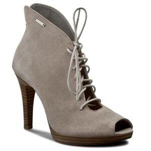 Kotníkové boty Lasocki BREMA-01 Přírodní kůže - semiš