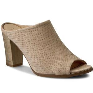 Pantofle Lasocki 2609-06 Přírodní kůže (useň) - Nubuk