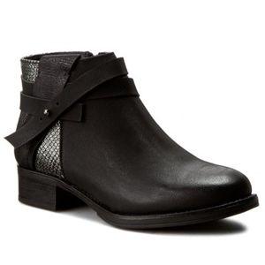 Kotníkové boty Jenny Fairy WS1177-18 Ekologická kůže
