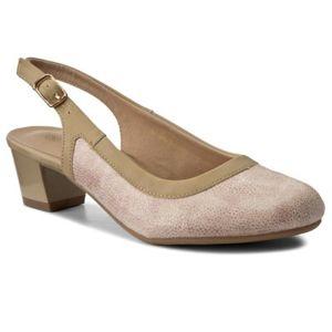 Sandály Clara Barson W17SS815-1 Textilní,Ekologická kůže