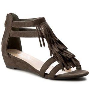 Sandály Jenny Fairy WS17011-1B Textilní