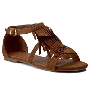 Sandály Via Ravia WS1261-5 Textilní materiál