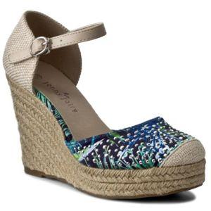 Sandály Jenny Fairy W17SS735-1 Textilní,Ekologická kůže