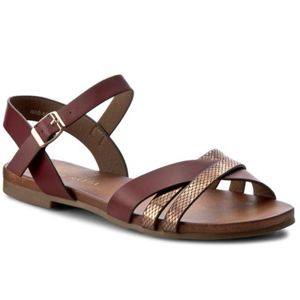 Sandály Via Ravia WAB-5541-LY65 Ekologická kůže