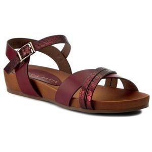 Sandály Via Ravia WAB-090-LY1 Ekologická kůže