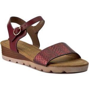 Sandály Via Ravia WAB-5646-LY3 Ekologická kůže