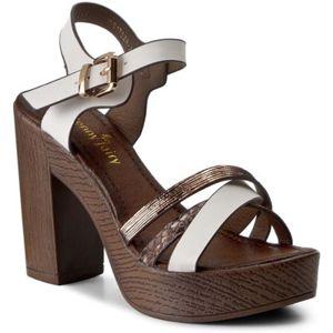 Sandály Jenny Fairy WS1782A-2 Textilní materiál,Ekologická kůže