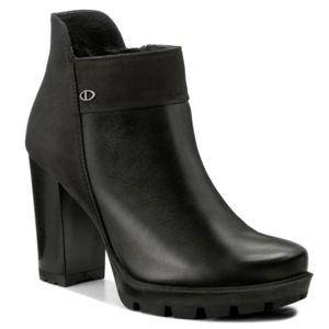 Kotníkové boty Lasocki CARRERA-06 Přírodní kůže - nubuk,Přírodní kůže - lícová