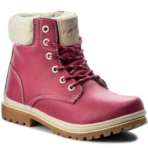 Šněrovací obuv Magic Lady CP40-877RZ Textilní,Ekologická kůže