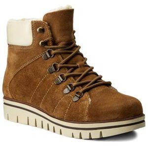 Šněrovací obuv Lasocki WI16-IRINA-01 Přírodní kůže - semiš,Přírodní kůže - lícová