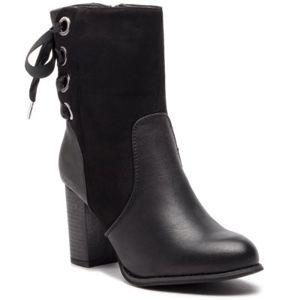 Kotníkové boty Jenny Fairy SWS17051-9 Textilní,Ekologická kůže