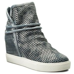 Kotníkové boty Jenny Fairy WS17062 Textilní,Ekologická kůže