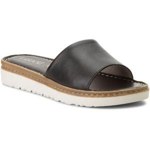 Pantofle Lasocki H587 Přírodní kůže - lícová