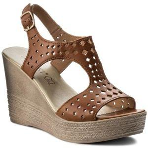 Sandály Lasocki RST-2024-01 Přírodní kůže - lícová
