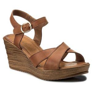 Sandály Lasocki 2120-01 Přírodní kůže - lícová