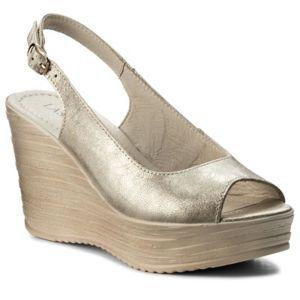 Sandály Lasocki 2121-01 Přírodní kůže - lícová