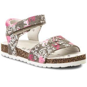 Sandály Nelli Blu CM170817-48 Textilní,Ekologická kůže