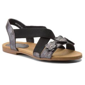 Sandály Nelli Blu CM170531-01 Textilní,Ekologická kůže
