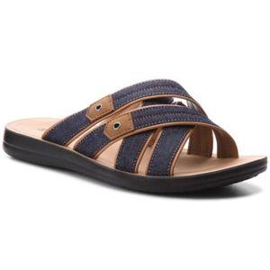 Pantofle Lanetti MS17019-3 Textilní,Ekologická kůže