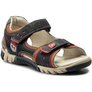 Sandály Lasocki Kids CI12-TRUCK-16 Přírodní kůže - nubuk,Přírodní kůže - lícová