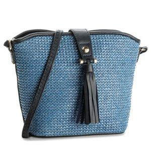 Dámské kabelky Jenny Fairy RH1033 Materiál - sláma,Ekologická kůže