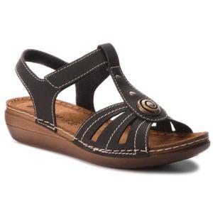 Sandály INBLU CX11AQ15 Ekologická kůže
