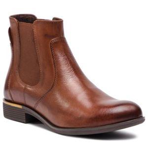 Kotníkové boty Lasocki RST-MESA-04 Přírodní kůže - lícová