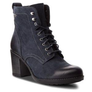 Šněrovací obuv Lasocki MANILA-01 Přírodní kůže (useň) - Nubuk