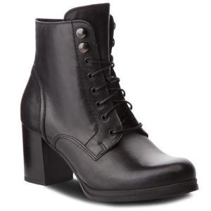 Šněrovací obuv Lasocki SEWERA2-01 Přírodní kůže (useň) - Lícová