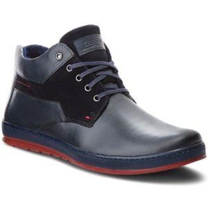 Šněrovací obuv Lasocki for men MB-POLON-270BIG Přírodní kůže - semiš,Přírodní kůže - lícová