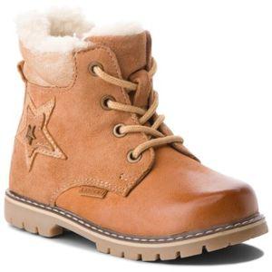 Šněrovací obuv Lasocki Kids CI12-MIKI-15 Přírodní kůže - nubuk,Pravá kůže - lesklá kůže,Přírodní kůže - semiš,Přírodní kůže - lícová