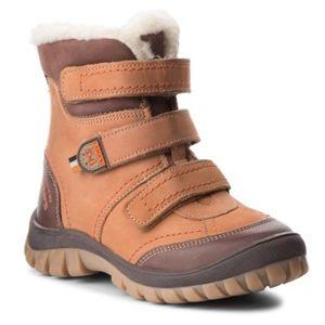 Šněrovací obuv Lasocki Kids CI12-1797-45 Přírodní kůže - nubuk,Přírodní kůže - lícová