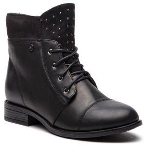 Šněrovací obuv Jenny Fairy WYL1554-3 Textilní,Ekologická kůže