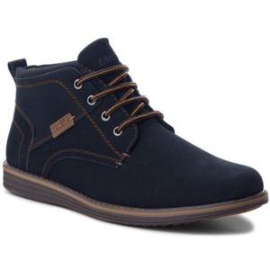 Šněrovací obuv Lanetti M16AW066-12 Ekologická kůže
