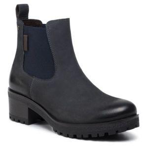 Kotníkové boty Lasocki WI23-ALVINA-01 Přírodní kůže (useň) - Nubuk