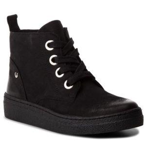 Šněrovací obuv Lasocki WI23-CARACAS-03 Přírodní kůže - nubuk,Přírodní kůže - lícová