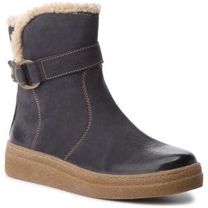 Kotníkové boty Lasocki WI23-CARACAS-04 Přírodní kůže (useň) - Nubuk