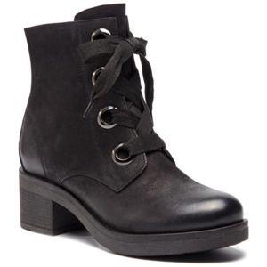 Šněrovací obuv Lasocki WI16-MARTA-04 Přírodní kůže - nubuk,Přírodní kůže - lícová