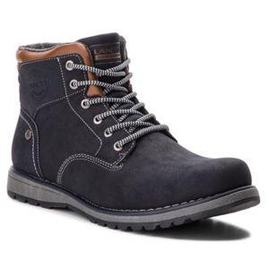 Šněrovací obuv Lanetti MP07-16637-02 Ekologická kůže