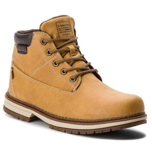 Šněrovací obuv Lanetti 16859-05 Ekologická kůže