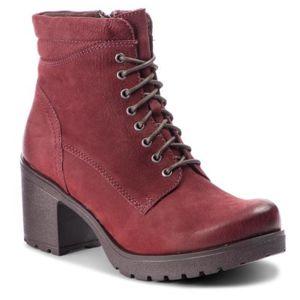 Šněrovací obuv Lasocki 2159-02 Přírodní kůže - nubuk