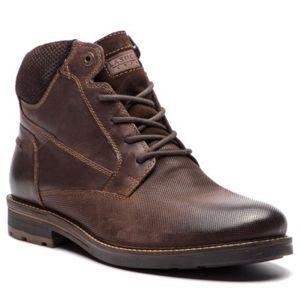 Šněrovací obuv Lasocki for men MI08-C393-422-01 Přírodní kůže - nubuk,Přírodní kůže - semiš,Přírodní kůže - lícová
