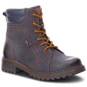Šněrovací obuv Lasocki Young CI12-ZULA-01 Přírodní kůže - nubuk,Přírodní kůže - lícová