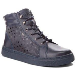 Šněrovací obuv Lasocki Young CI12-GATE-06 Pravá kůže - lesklá kůže,Přírodní kůže - semiš,Přírodní kůže - lícová