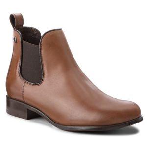 Kotníkové boty Lasocki 70090-12BIG Přírodní kůže (useň) - Lícová