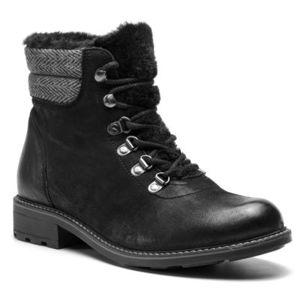 Šněrovací obuv Lasocki WI16-VIVA-08BIG Přírodní kůže (useň) - Nubuk