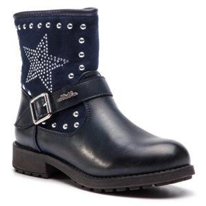 Kotníkové boty Nelli Blu CSAW14-050-2 Textilní,Ekologická kůže