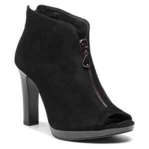 Kotníkové boty Lasocki BREMA-16 Přírodní kůže - semiš